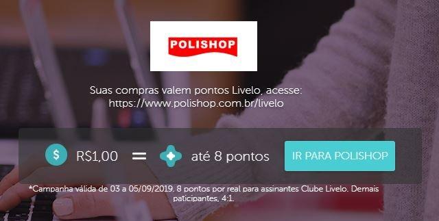 Ganhe 37% de desconto no site da Polishop!
