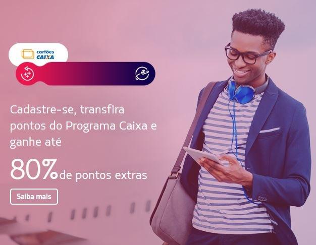 Latam Pass: Transfira pontos do programa Caixa e ganhe até 80% de pontos extras