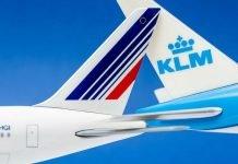 Air France-KLM alcançará 60% da malha aérea pré-Covid-19 até dezembro