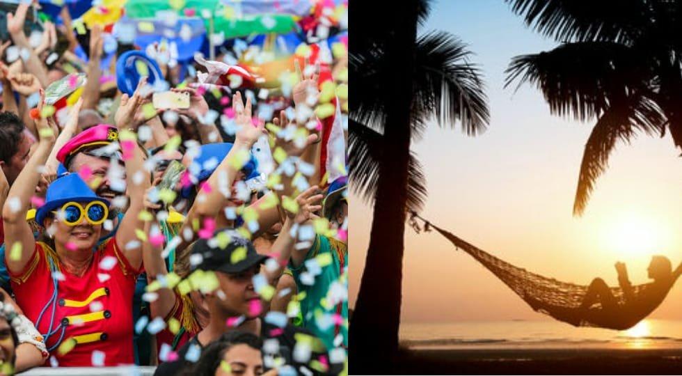 Folia ou descanso: destinos para aproveitar o Carnaval 2020