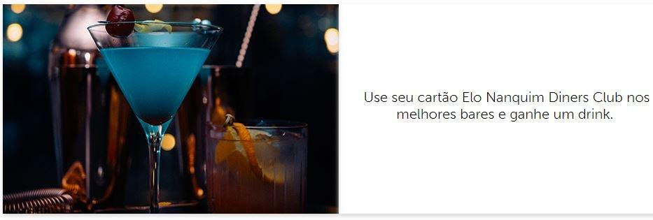 Clientes Elo Nanquim Diners Club ganham drinks em bares de São Paulo