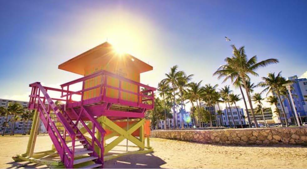 Percorrera virtualmente as belíssimas praias da Flórida