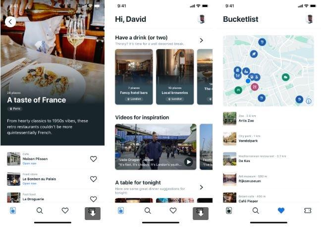 Booking.com lança app piloto em Amsterdã, Paris e Londres