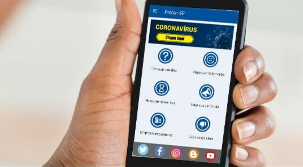Procon-SP lança ferramenta em seu site e app para reclamações sobre coronavírus