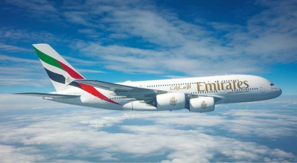 Emirates retoma rota para Londres e Paris com o emblemático A380
