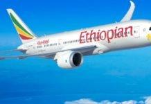 Ethiopian Airlines informa retomada de voos regulares