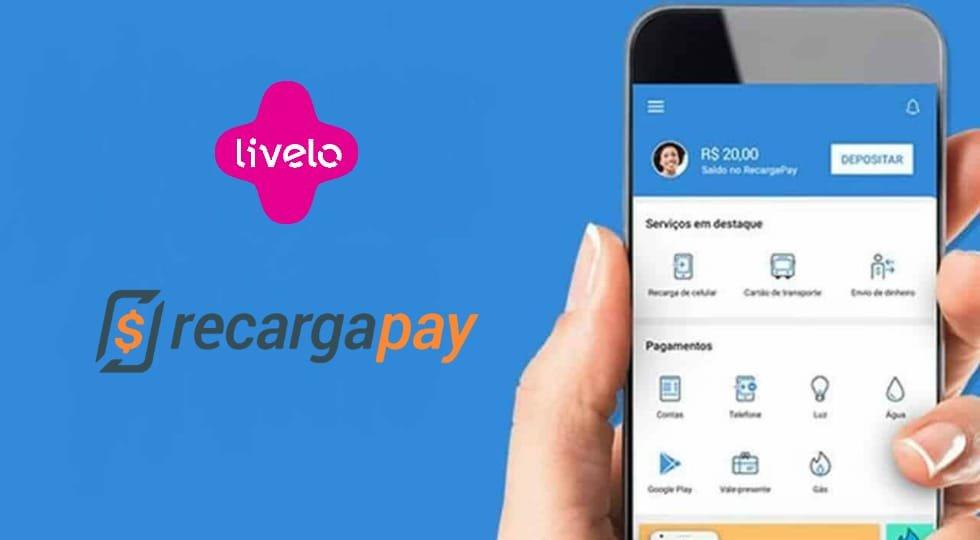 Livelo fecha parceria com RecargaPay para recargas com pontos
