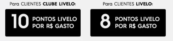 Livelo oferece até 10 pontos por real gasto na Renner