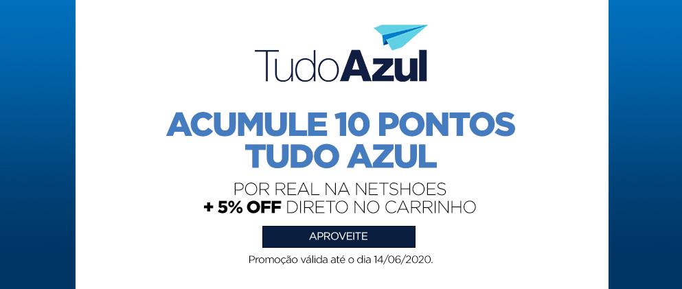 TudoAzul oferece 10 pontos por real gasto na Netshoes