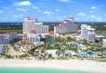 Resorts das Bahamas são reconhecidos entre os melhores resorts do Atlântico