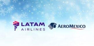 Latam Brasil e Latam Colômbia anunciam acordo de Codeshare com Aeroméxico