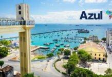 Com sucesso na malha de verão, Azul manterá rota Congonhas-Salvador em definitivo a partir de fevereiro