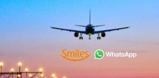 Smiles oferece atendimento via Whatsapp para informações de voos